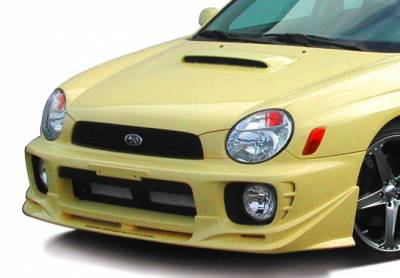 WRX - Front Bumper - VIS Racing - Subaru WRX VIS Racing W-Type Front Lip - 890698