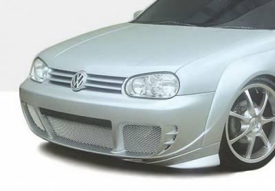 Golf - Front Bumper - Wings West - Volkswagen Golf Wings West G-Spec Front Bumper Cover - 890710