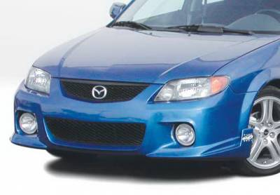 Protege - Front Bumper - Wings West - Mazda Protege Wings West MPS Front Bumper Cover - 890785
