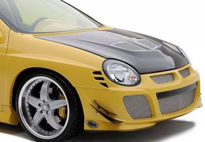 Neon 2Dr - Front Bumper - Wings West - Dodge Neon Wings West Racing Series Front Bumper Cover - 890795