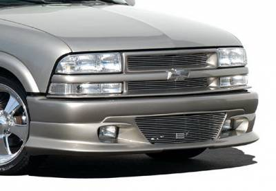S10 - Front Bumper - Wings West - Chevrolet S10 Wings West Custom Style Front Air Dam - 890812