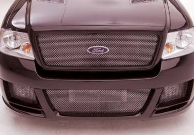 F150 - Front Bumper - Wings West - Ford F150 Wings West Revolver Front Bumper Cover - 890829