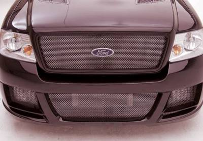 F150 - Front Bumper - VIS Racing - Ford F150 VIS Racing W-Type Front Bumper Cover - 890829