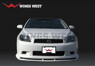 TC - Front Bumper - VIS Racing - Scion tC VIS Racing A-Spec Front Lip - Polyurethane - 890862