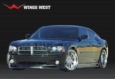 Charger - Front Bumper - Wings West - Dodge Charger Wings West LSC Custom Front Air Dam - 890866