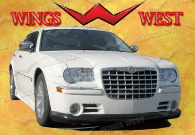 300 - Front Bumper - Wings West - Chrysler 300 Wings West VIP Front Air Dam - 890876