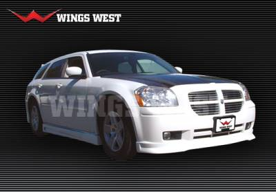 Magnum - Front Bumper - VIS Racing - Dodge Magnum VIS Racing VIP Front Lip - Polyurethane - 890882