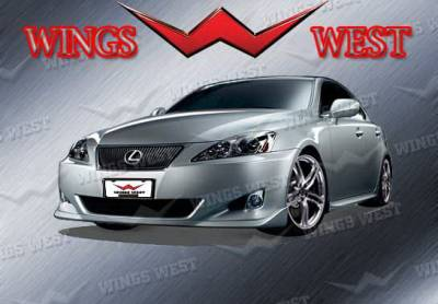 IS - Front Bumper - Wings West - Lexus IS Wings West VIP Front Air Dam - 890915