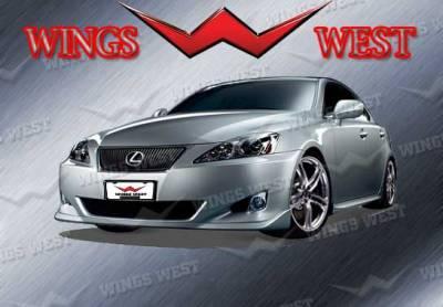 IS - Front Bumper - VIS Racing - Lexus IS VIS Racing WW Vip Front Lip - Polyurethane - 890915