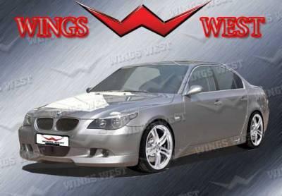 5 Series - Front Bumper - VIS Racing - BMW 5 Series VIS Racing VIP Front Lip - Polyurethane - 890920