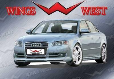 A4 - Front Bumper - VIS Racing - Audi A4 VIS Racing VIP Front Lip - Polyurethane - 890932