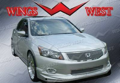 Accord 4Dr - Front Bumper - Wings West - Honda Accord 4DR Wings West VIP Front Air Dam - 890956