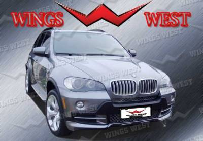 X5 - Front Bumper - VIS Racing - BMW X5 VIS Racing A-Tech Front Lip - Polyurethane - 890977