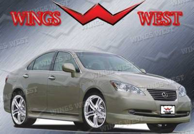 ES - Front Bumper - VIS Racing - Lexus ES VIS Racing VIP Front Lip - Polyurethane - 890980