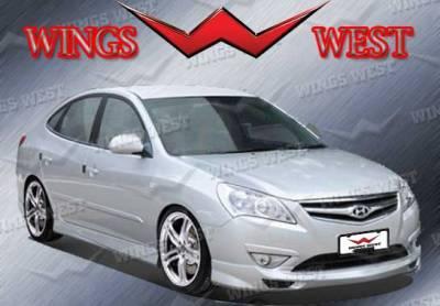 Elantra - Front Bumper - VIS Racing - Hyundai Elantra VIS Racing Fuzion Front Lip - Polyurethane - 890992