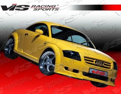TT - Front Bumper - VIS Racing - Audi TT VIS Racing A Tech Front Lip - 00AUTT2DATH-011