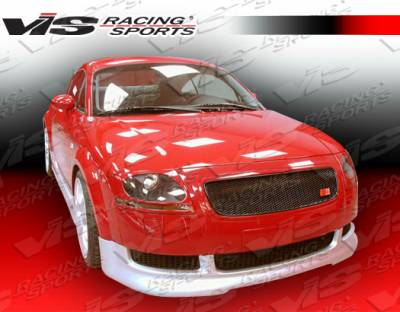 TT - Front Bumper - VIS Racing - Audi TT VIS Racing R Tech Front Lip - 00AUTT2DRTH-011