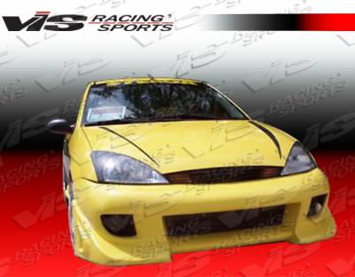 Focus 4Dr - Front Bumper - VIS Racing - Ford Focus VIS Racing Battle Z Front Bumper - 00FDFOC2DBZ-001