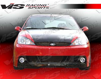 Focus 4Dr - Front Bumper - VIS Racing - Ford Focus VIS Racing DTM Front Bumper - 00FDFOC2DDTM-001
