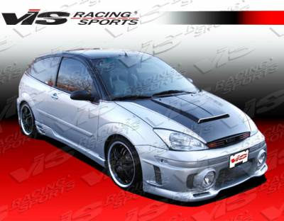 Focus 4Dr - Front Bumper - VIS Racing - Ford Focus VIS Racing EVO Front Bumper - 00FDFOC2DEVO-001