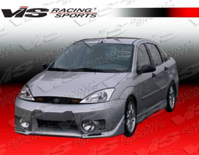 Focus 4Dr - Front Bumper - VIS Racing - Ford Focus VIS Racing EVO-5 Front Bumper - 00FDFOC2DEVO5-001