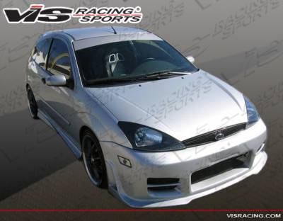Focus 4Dr - Front Bumper - VIS Racing - Ford Focus VIS Racing Octane Front Bumper - 00FDFOC2DOCT-001