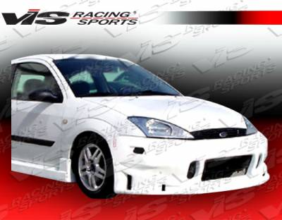 Focus 4Dr - Front Bumper - VIS Racing - Ford Focus VIS Racing TSC Front Bumper - 00FDFOC2DTSC-001