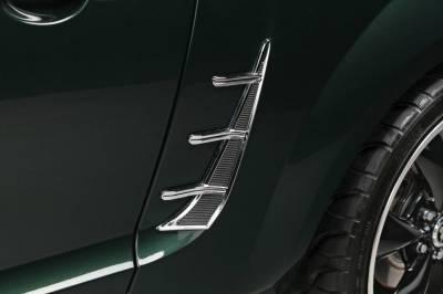 Retro USA - Ford Mustang Retro USA Quarter Molding Set - MT1QM-A