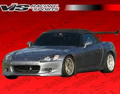 S2000 - Front Bumper - VIS Racing - Honda S2000 VIS Racing KD Front Lip - Urethane - 00HDS2K2DKD-011P