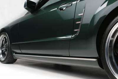 Retro USA - Ford Mustang Retro USA Rocker Molding Set - MT1RM-A