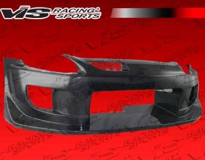 S2000 - Front Bumper - VIS Racing - Honda S2000 VIS Racing Techno R Front Bumper - Carbon Fiber - 00HDS2K2DTNR-001C