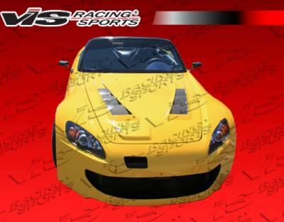 S2000 - Front Bumper - VIS Racing - Honda S2000 VIS Racing Techno R-2 Front Bumper - 00HDS2K2DTNR2-001