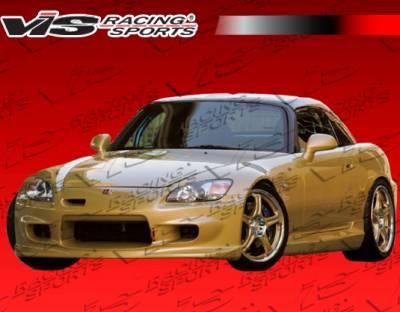 S2000 - Front Bumper - VIS Racing - Honda S2000 VIS Racing Wings Front Bumper - 00HDS2K2DWIN-001