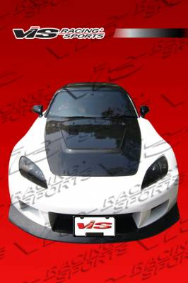 S2000 - Front Bumper - VIS Racing. - Honda S2000 VIS Racing Z Speed Widebody Front Bumper - 00HDS2K2DZSPWB-001