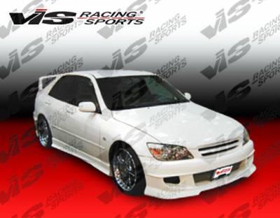 IS - Front Bumper - VIS Racing - Lexus IS VIS Racing Cyber-2 Front Bumper - 00LXIS34DCY2-001