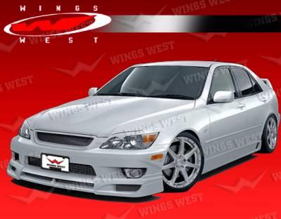 IS - Front Bumper - VIS Racing - Lexus IS VIS Racing JPC Front Lip - Polyurethane - 00LXIS34DJPC-011P