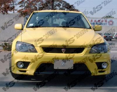 IS - Front Bumper - VIS Racing - Lexus IS VIS Racing Techno R Front Bumper - 00LXIS34DTNR-001
