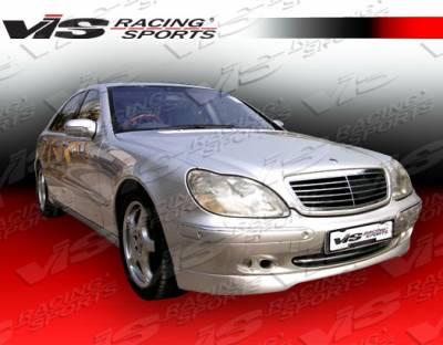 S Class - Front Bumper - VIS Racing - Mercedes-Benz S Class VIS Racing C-Tech Front Lip - 00MEW2204DCTH-011