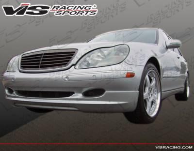 S Class - Front Bumper - VIS Racing - Mercedes-Benz S Class VIS Racing VIP Front Lip - 00MEW2204DVIP-011