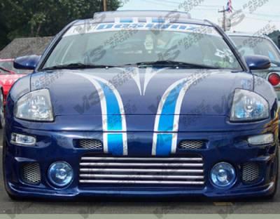 Eclipse - Front Bumper - VIS Racing - Mitsubishi Eclipse VIS Racing Evolution Front Bumper - 00MTECL2DEVO-001