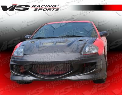 Eclipse - Front Bumper - VIS Racing. - Mitsubishi Eclipse VIS Racing GT Bomber Front Bumper - 00MTECL2DGB-001