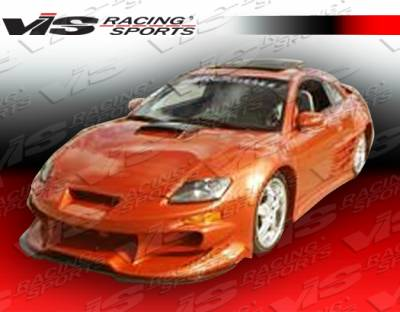 Eclipse - Front Bumper - VIS Racing - Mitsubishi Eclipse VIS Racing Invader-2 Front Bumper - 00MTECL2DINV2-001