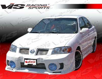 Sentra - Front Bumper - VIS Racing - Nissan Sentra VIS Racing EVO-5 Front Bumper - 00NSSEN4DEVO5-001