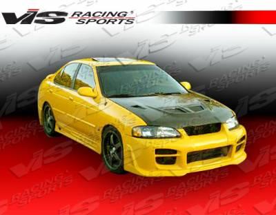 Sentra - Front Bumper - VIS Racing - Nissan Sentra VIS Racing Octane Front Bumper - 00NSSEN4DOCT-001