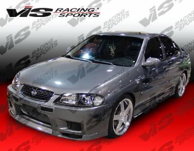 Sentra - Front Bumper - VIS Racing - Nissan Sentra VIS Racing Omega Front Bumper - 00NSSEN4DOMA-001