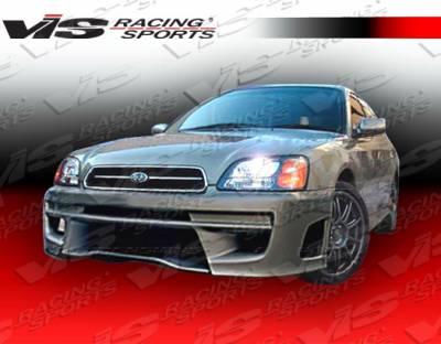 Legacy - Front Bumper - VIS Racing - Subaru Legacy VIS Racing STI Front Bumper - 00SBLEG4DSTI-001