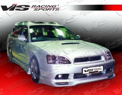 Legacy - Front Bumper - VIS Racing - Subaru Legacy VIS Racing V Spec Front Lip - 00SBLEG4DVSC-011