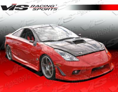 Celica - Front Bumper - VIS Racing - Toyota Celica VIS Racing Ballistix Front Bumper - 00TYCEL2DBX-001