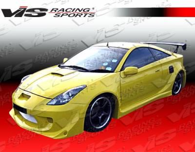 Celica - Front Bumper - VIS Racing - Toyota Celica VIS Racing Cyber GT Widebody Front Bumper - 00TYCEL2DCYWB-001