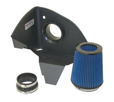 Air Intakes - Oem Air Intakes - aFe - BMW 5 Series aFe MagnumForce Pro-5R Stage 1 Air Intake System - 54-10471